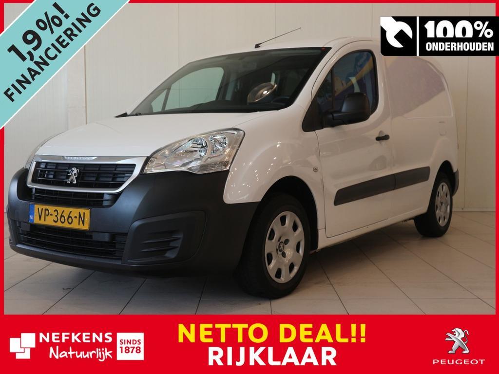 Peugeot Partner L1 120 1.6 hdi 75 pk xr profit+ netto deal & rijklaar