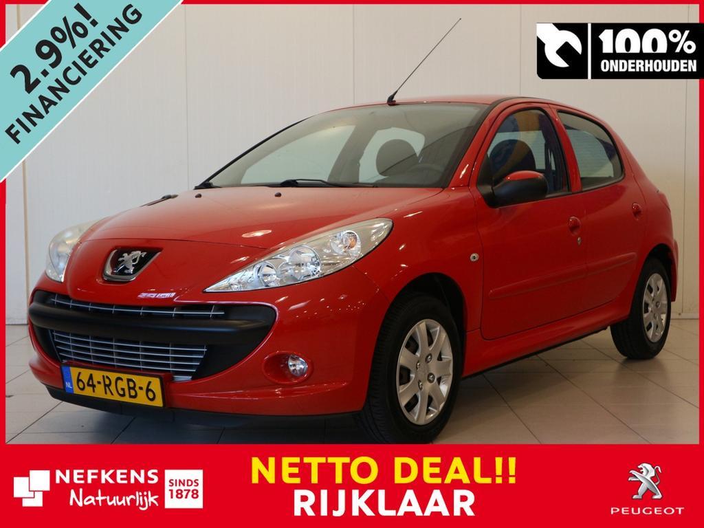 Peugeot 206+ 1.4 74 pk xs netto deal & rijklaar
