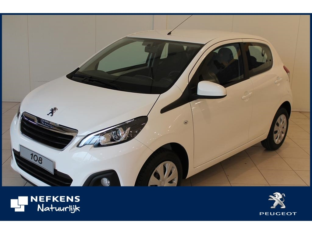 Peugeot 108 5d active *private lease incl. 250,- brandstof!!!