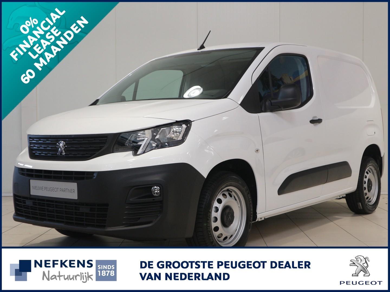 Peugeot Partner Premium 3-zits 75pk leaseprijs 60 mnd 0% rente
