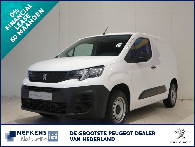 Peugeot Partner 1.5 75 pk pro leaseprijs 60 mnd 0% rente