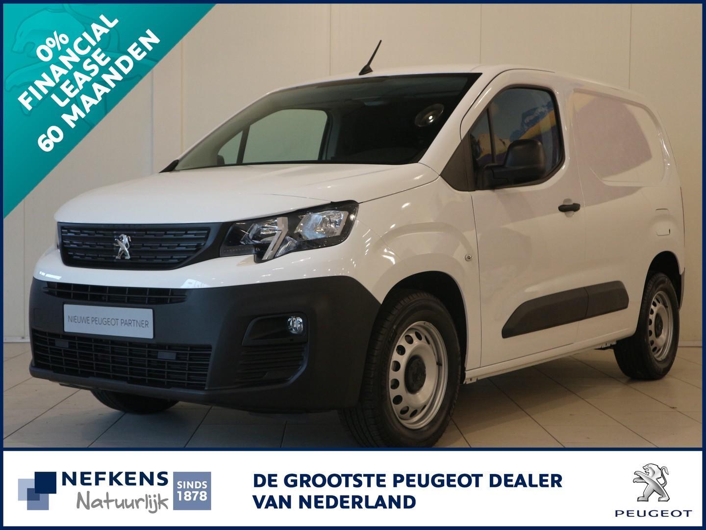 Peugeot Partner 1.6 grip 75 pk leaseprijs 60 mnd 0% rente