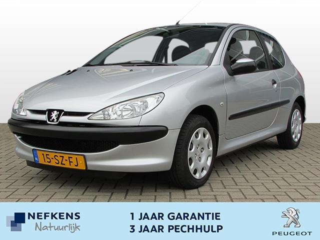 Peugeot 206 One-line 1.4 3-drs airco,radio,cd speler!