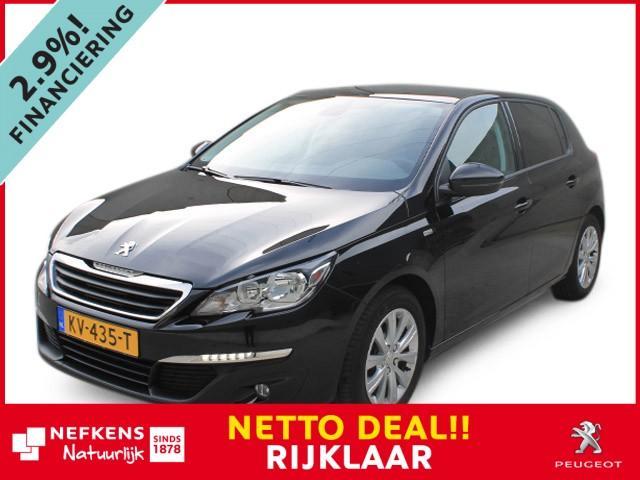 Peugeot 308 1.2 pe-thp 110pk style * panoramadak * * rijklaar * netto deal *