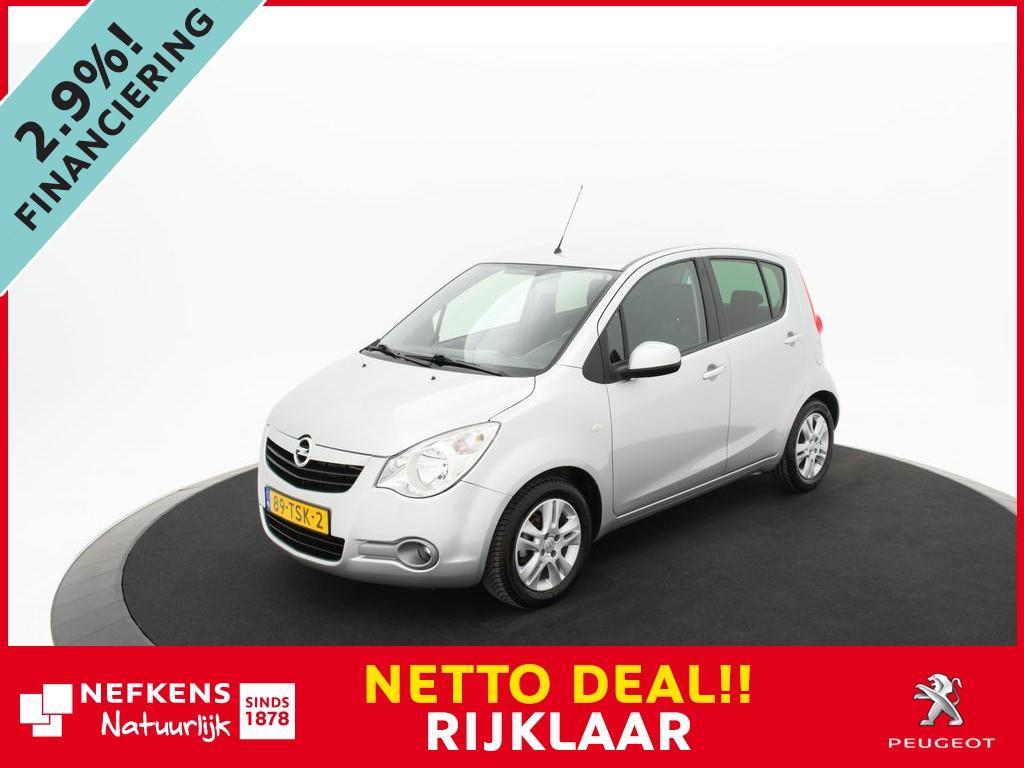 Opel Agila 1.2 edition *airco!* *lichtmetalen velgen!* *43.000km!* *netto deal!* *rijklaar prijs!*