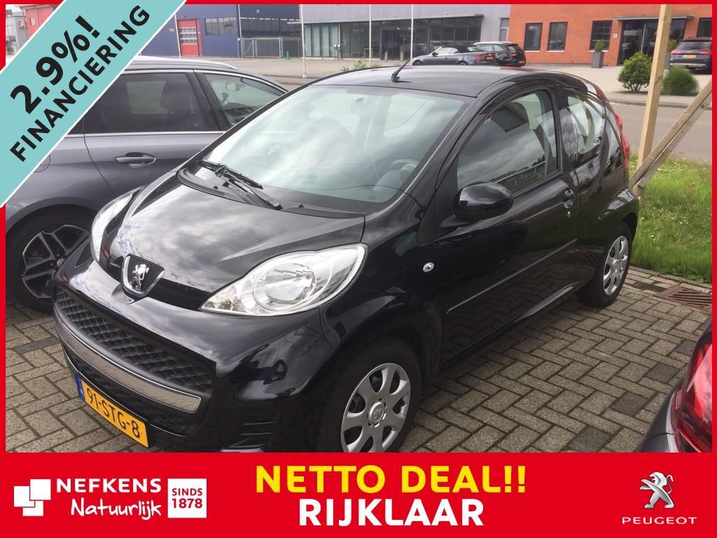 Peugeot 107 1.0-12v xs 68 pk * airco * 6 maanden bovag garantie * * rijklaar * netto deal *
