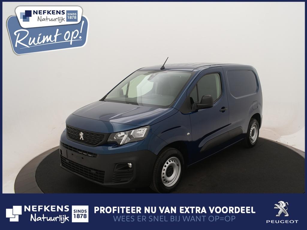 Peugeot Partner 1.6 bluehdi 100pk premium 650kg *airco*cruise control*parkeersensoren achter* *voorraadvoordeel bij nefkens*