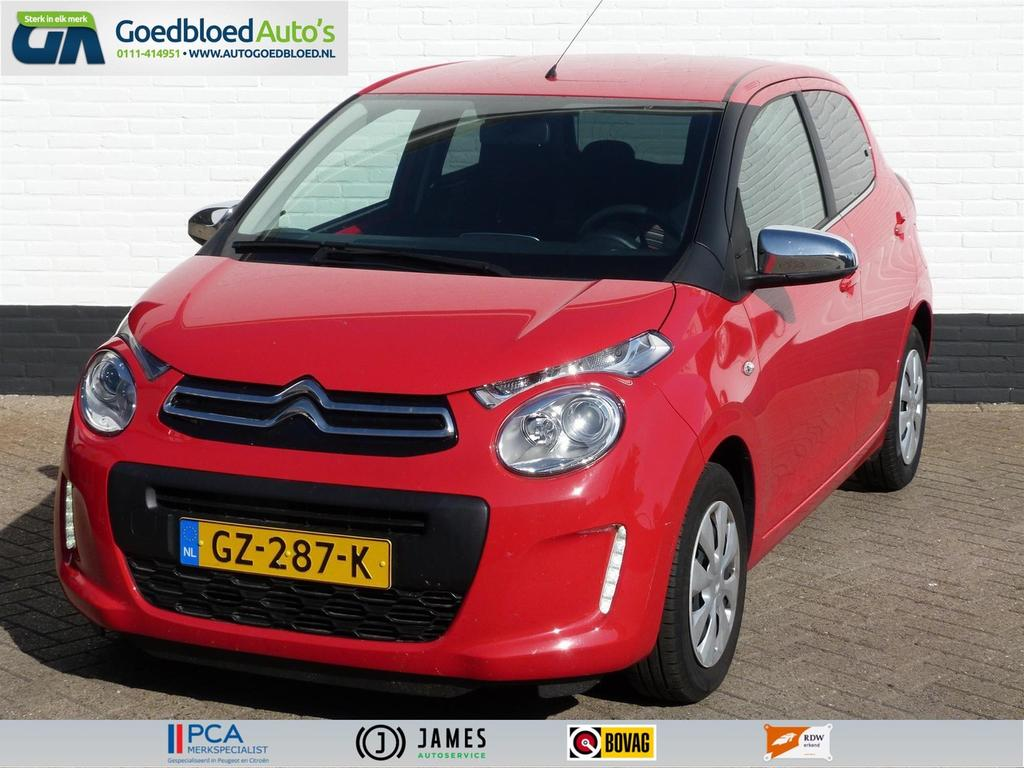 Citroën C1 1.0 e-vti style edition - privacy glas - airco - bluetooth