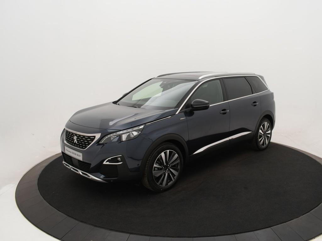 Peugeot 5008 1.6 bluehdi blue lease gt-line *afneembare trekhaak* schuif/kanteldak* *voorraadvoordeel bij nefkens*