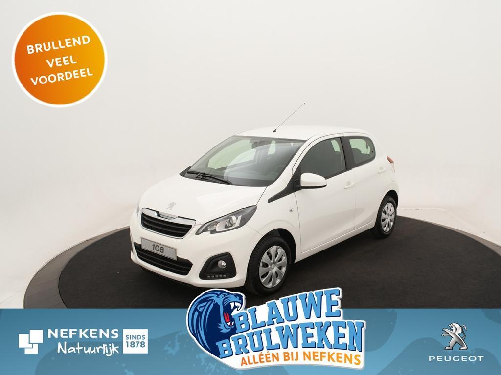 Peugeot 108 1.0 e-vti active *airco* usb/bluetooth* *voorraadvoordeel bij nefkens*