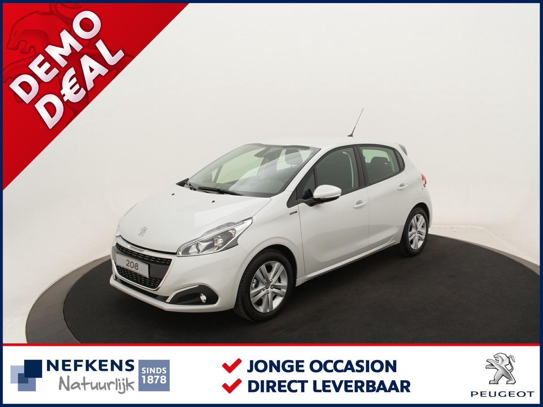 Peugeot 208 Signature 110pk automaat (eat6) * airco * navigatie * parkeersensoren achter *